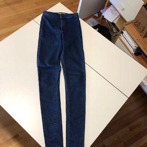 Topshop Moto Joni Skinny Jeans 26 Excellent